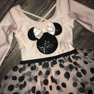 Kids Minnie Mouse Ballerina Dress